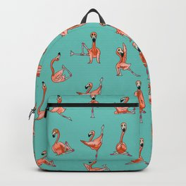 Flamingo Yoga Backpack