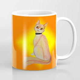 Firery Feline Coffee Mug