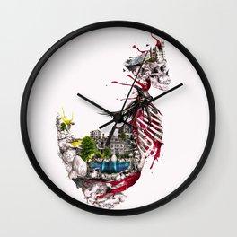 Legendary Skull Island Wall Clock