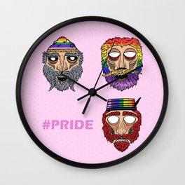 Proud Dacian Rulers Wall Clock