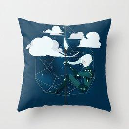 Nightlight Circlet Throw Pillow