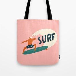 Let's surf Tote Bag
