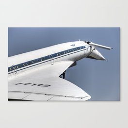 Tupolev TU-144 Jet Canvas Print