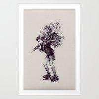 The favor Art Print
