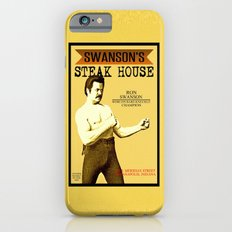 Ron Swanson  |  Steak House Parody |  Parks and Recreation iPhone 6 Slim Case