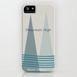 River Deep iPhone Case