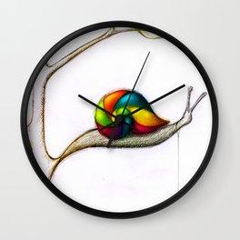 Treesnail Wall Clock