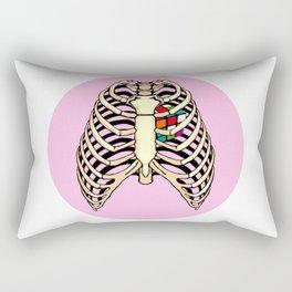 Rubik's Heart Rectangular Pillow