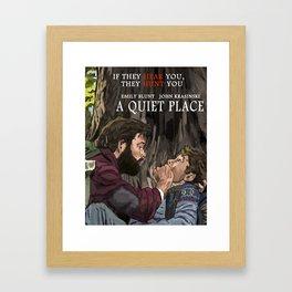 A Quiet Place Framed Art Print