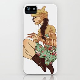 Kira iPhone Case