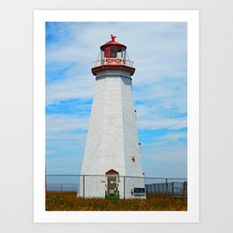 North Cape Lighthouse Art Print