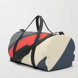 3 Retro Stripes #4 Duffle Bag