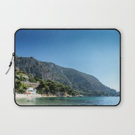 French Riviera Beach Day Laptop Sleeve