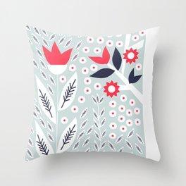 Soft spring Throw Pillow