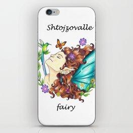 Shtojzovalle/ Albanian Fairy iPhone Skin