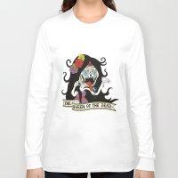 marceline Long Sleeve T-shirts featuring Muertos Marceline by Jade Boylan