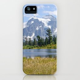 MOUNT SHUKSAN ONE AUGUST DAY iPhone Case