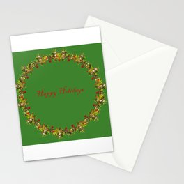 Madrone Holiday Pattern Stationery Cards