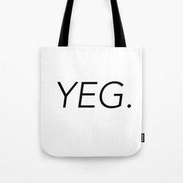 YEG City Code - Edmonton Tote Bag