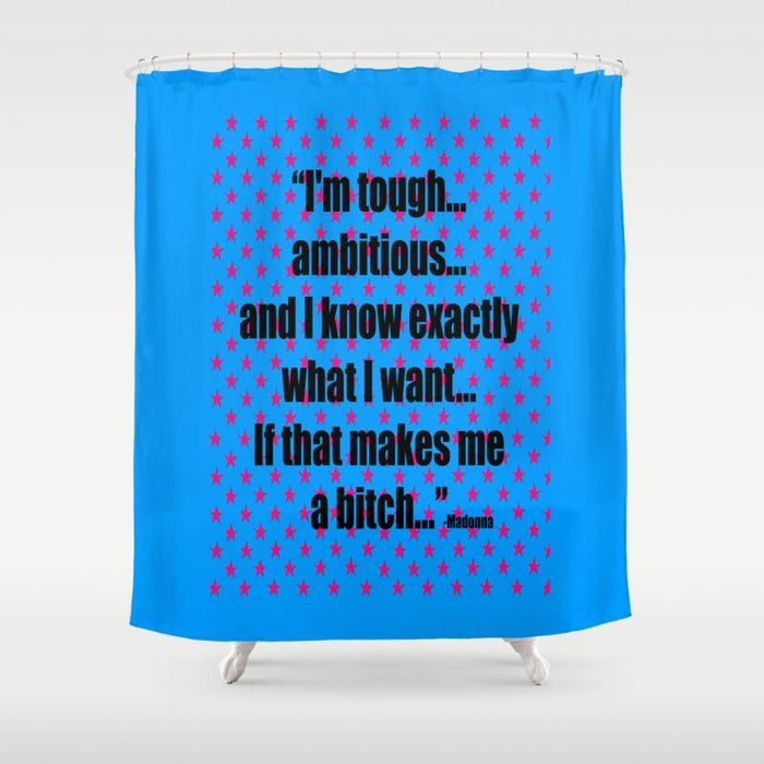 She Is Unique Shower Curtain By Azima Society6