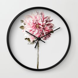 All The Pretty Flowers No. 2 Wall Clock