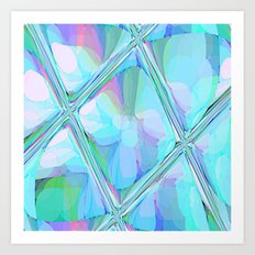 Re-Created  Glass Ceiling VII by Robert S. Lee Art Print