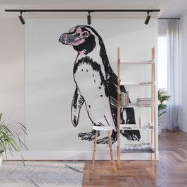 Pez the Humboldt Penguin Wall Mural