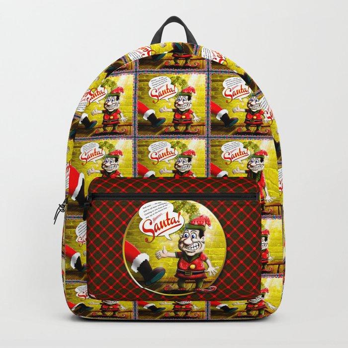 Here's Santa! Backpack