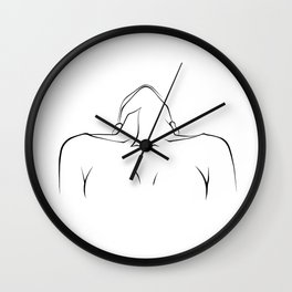 Laid Back | Nude Collection Wall Clock