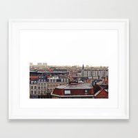 brussels Framed Art Prints featuring Brussels by Anastasiia Prysiazhniuk