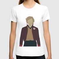 les miserables T-shirts featuring Enjolras - Aaron Tveit - Les Miserables Minimalist design by Hrern1313