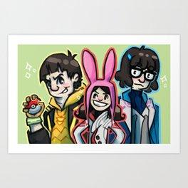 Team Belcher Art Print