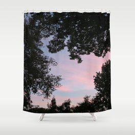 frilled Shower Curtain