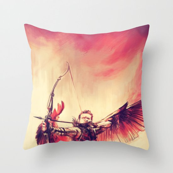 Take Aim Throw Pillow