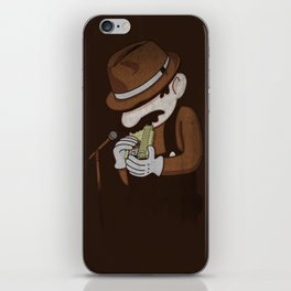 8-bit Blues iPhone Skin