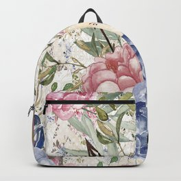 Watercolor Floral Backpack