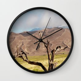 The Great Sand Dunes  Wall Clock