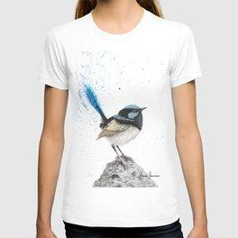 Mountain Blue Wren T-shirt