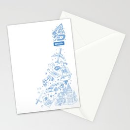 Crypto coins. Stationery Cards