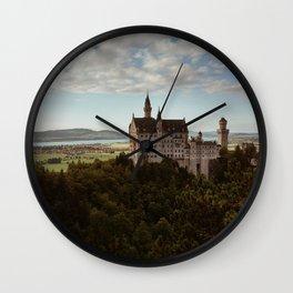 Neuschwanstein Castle in Germany Wall Clock