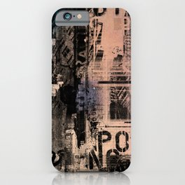 City Life: Distraction iPhone Case