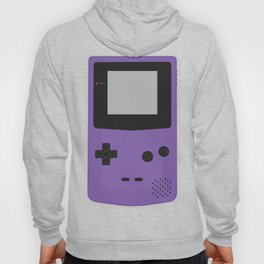 Gameboy Colour Purple Hoody
