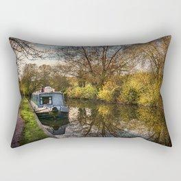 An Autumn Afternoon At Hungerford Rectangular Pillow