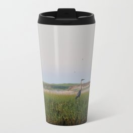 Blue Heron Travel Mug