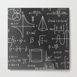 Math is Life Metal Print