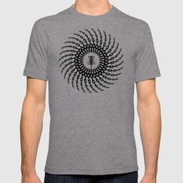 Disc Golf Basket Chains T-shirt