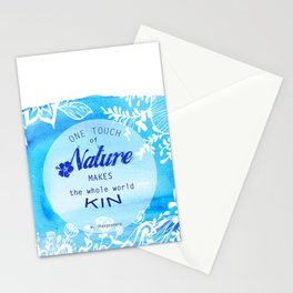 One touch f Nature.. Stationery Cards