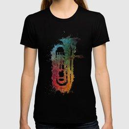 euphonium music art T-shirt