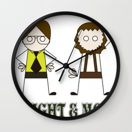 The Schrutes Wall Clock