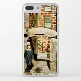 1900 St. Ives Cornwall, The Old Arch, local boy Clear iPhone Case